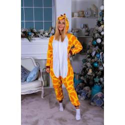 Пижама кигуруми Жираф (рост 65-190 см) для детей и взрослых