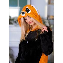 Пижама кигуруми Енот (рост 65-190 см) для детей и взрослых