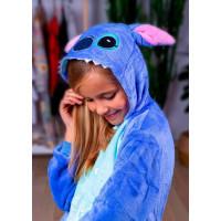 Пижама кигуруми Стич синий (рост 65-190 см) для детей и взрослых