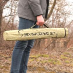 Чехол для шампуров огнеупорный брезент + возможность нанести принт
