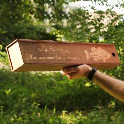 Тубус для шампуров (720мм.) с гравировкой