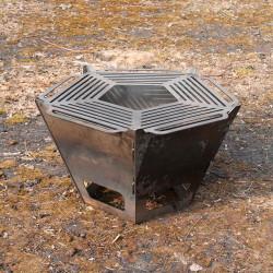 Чаша для огня разборная (74 см.) мангал большая